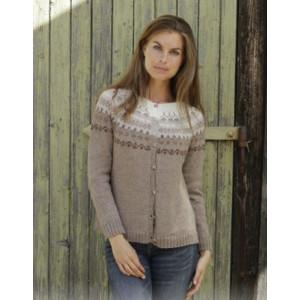 Talvik Jacketby DROPS Design - Knitted Jacket Pattern Sizes S - XXXL
