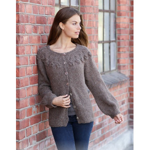 City Livingby DROPS Design - Knitted Jacket Pattern Sizes S - XXXL