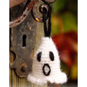Casper by DROPS Design - Crochet Halloween Ghost Pattern 4 cm