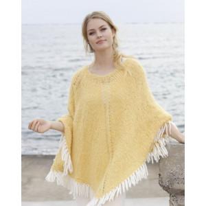 Soldans by DROPS Design - Poncho Knitting Pattern S - XXXL