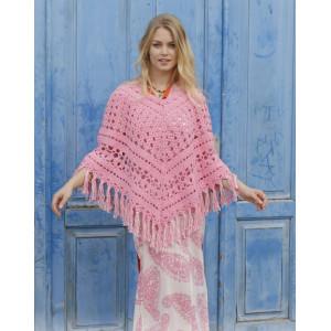 Mamma Miaby DROPS Design - Poncho Crochet Pattern Size S - XXXL
