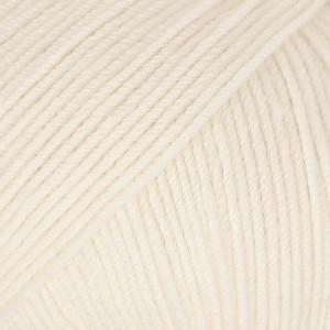 Drops Baby Merino Yarn Unicolor 02 Off White