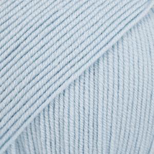 Drops Baby Merino Yarn Unicolor 11 Ice Blue