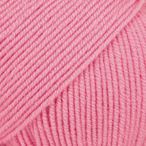 Drops Baby Merino Yarn Unicolor 07 Pink