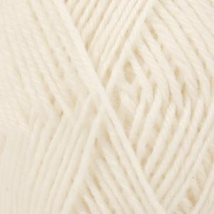 Drops Karisma Yarn Unicolor 01 Off White