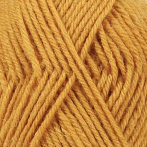 Drops Karisma Yarn Unicolor 52 Dark Mustard
