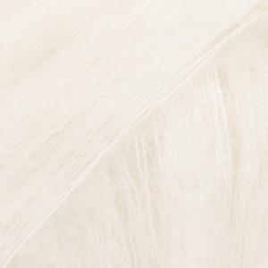 Drops Kid-Silk Yarn Unicolor 01 Off White