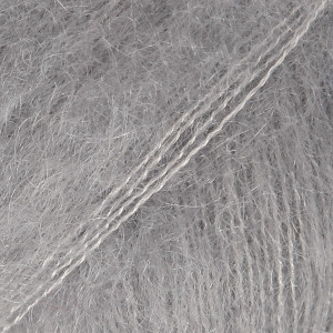Drops Kid-Silk Yarn Unicolor 10 Grey