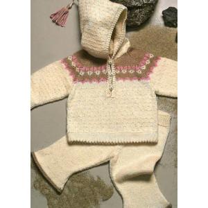 Mayflower Hættetrøje og Bukser til baby - Knitting Babyset Pattern Size 0/3 - 18 months