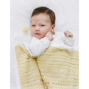 Blooming Lilyby DROPS Design - Crochet Baby Blanket Pattern 65-86 cm