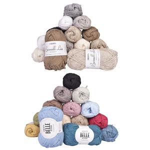Linen Knitting Yarn