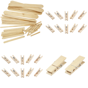 Popsicles & Clothespins