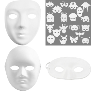 Plastic Mask / Paper Mask
