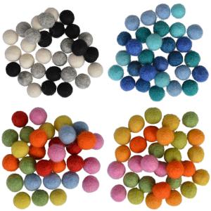Felt Balls 10mm