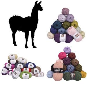 Alpaca Yarn - Lama - Wool Yarn